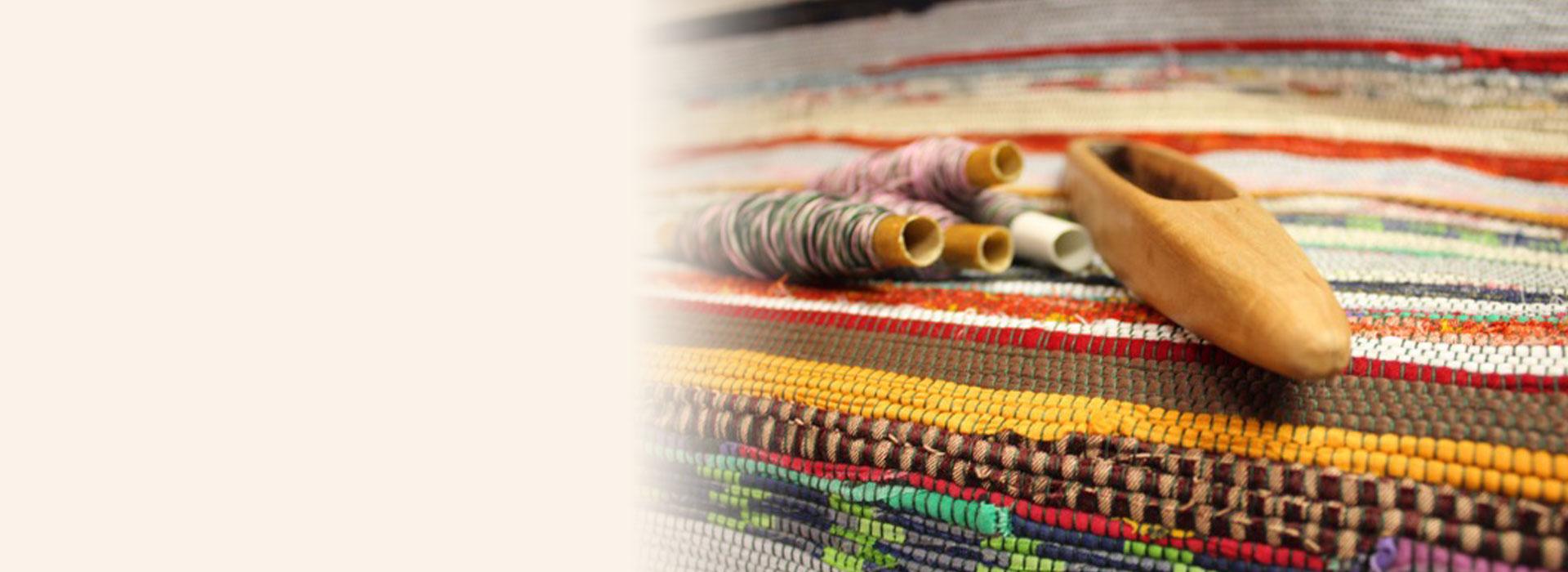 Chodnik tkany tradycyjnie